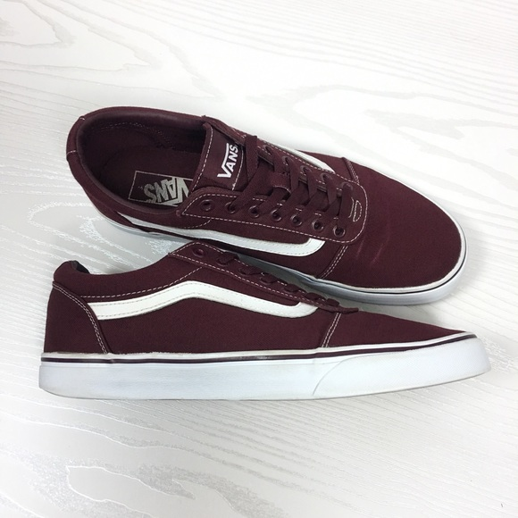 74d840fbcb Vans Old Skool Sneakers Maroon Burgundy Mens 11. M 5a7f9c885521be0e9a7d805a